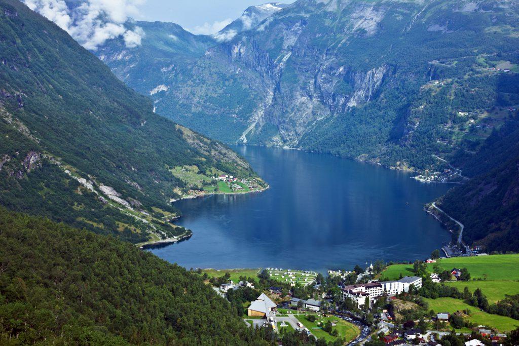 Geiranger Köyü, Norveç