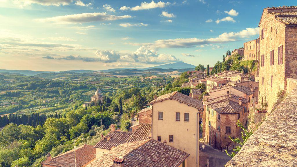 Montepulçiano, Toskana, İtalya