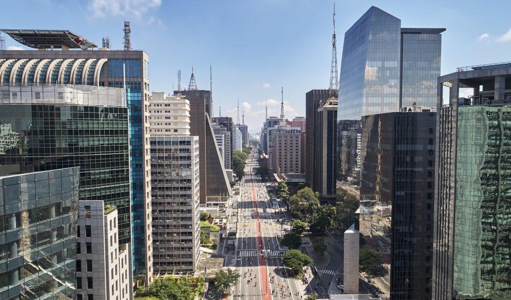 Paulista Bulvarı (Avenida Paulista), Sao Paulo, Brezilya