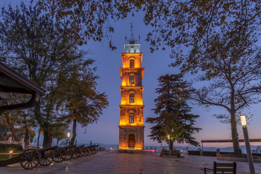 Tophane Saat Kulesi, Osmangazi, Bursa