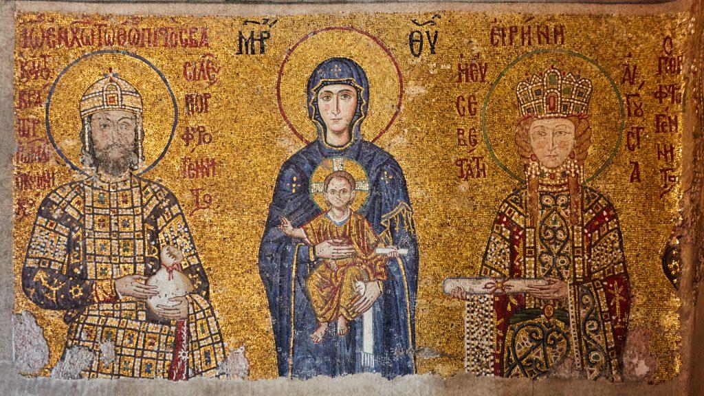 Ayasofya Mozaik, Doğu Roma İmparatorluğu / Bizans İmparatorluğu