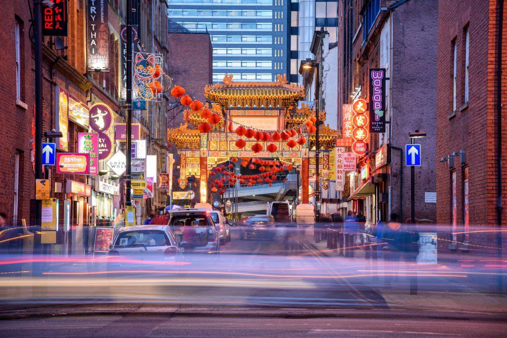 Chinatown (Çin Mahalesi), Manchester