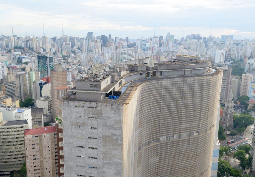 Edificio Copan, Sao Paulo, Brezilya