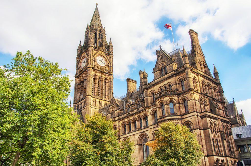 Manchester Town Hall (Manchester Belediye Sarayı)
