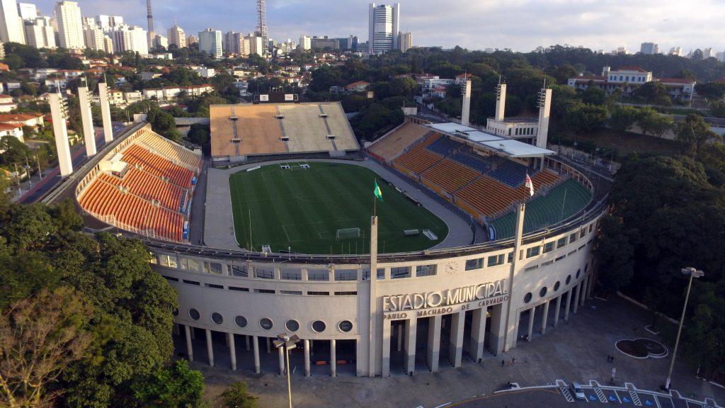 Pacaembu Stadyumu, Sao Paulo, Brezilya