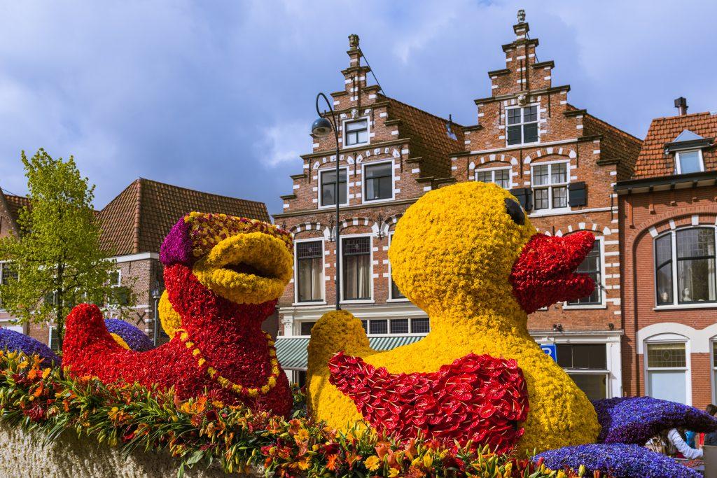 Çiçek Geçit Töreni (Bloemencorso Bollenstreek) – Hollanda