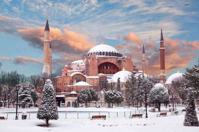 İstanbul'da Kış- Ayasofya