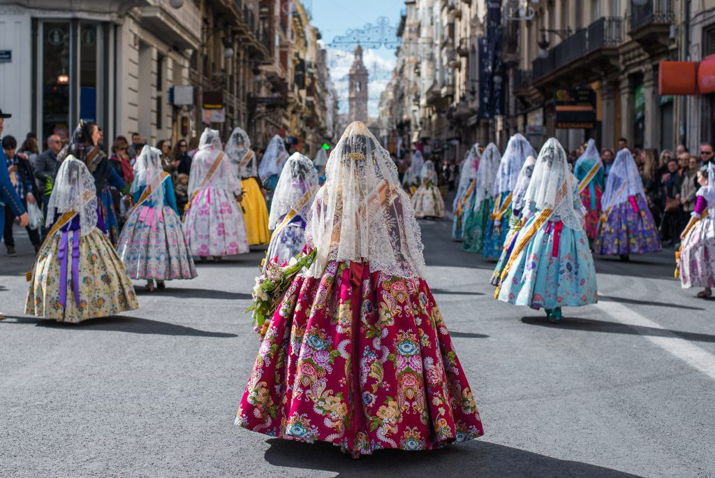 Fallas Festivali – Valencia, İspanya
