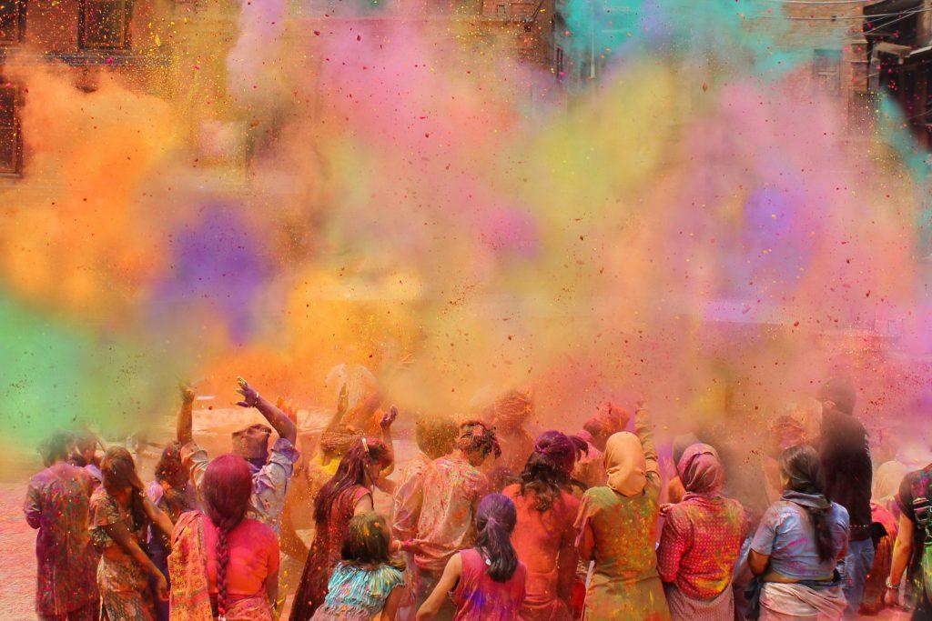 Holi Bayramı – Hindistan