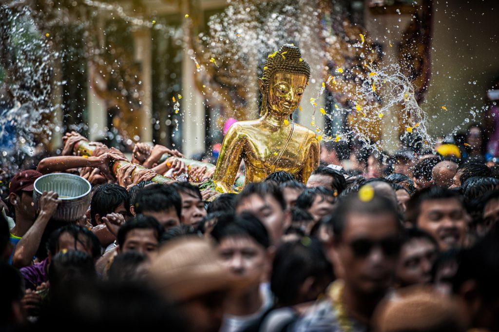 Songkran Su Festivali – Tayland