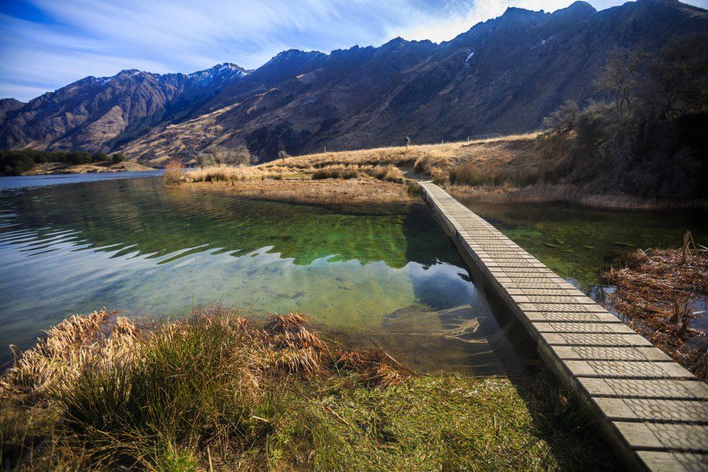 Moke Gölü Yeni Zelanda
